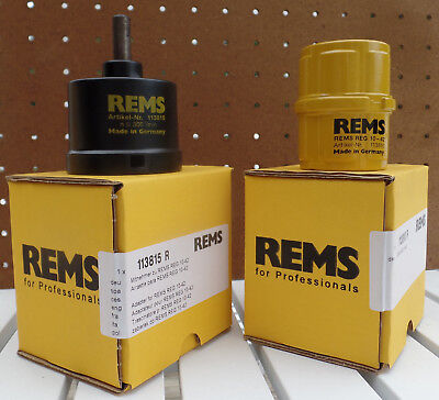 Deburring and Reaming Tool w/drill adapter 10-42mm Made in Germany by REMS