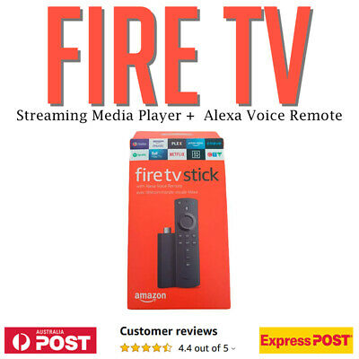 Amazon Fire TV Stick with Alexa 2019 Alexa Remote Internet Streamer AU!