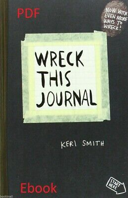 Wreck This Journal: To Create is to Destroy by Keri Smith {€-book} Fast delivery