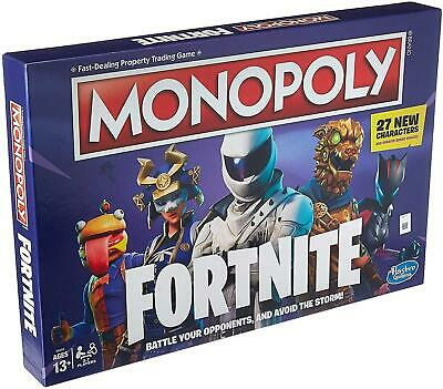Monopoly: Fortnite Edition Board Game Fun Family Time Ages 13 And Up