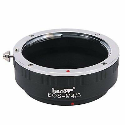 Haoge EOS-M43 manual lens mount adapter, EOS EF EFS to MFT m4/3 m43 mount