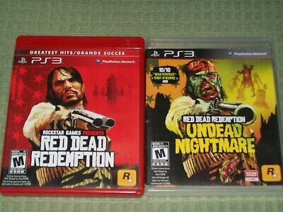 Red Dead Redemption & Undead Nightmare (Sony PlayStation 3) PS3 CIB Complete
