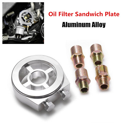 Mocal Oil Cooler Sandwich Plate For M20 Filter 1//2 BSP Ports No Thermostat