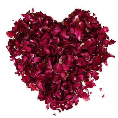 100/200g Dried Rose Petals Natural Dry Flower Petal Spa Whitening Shower Bath IO