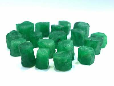 45 Carats Top Quality Beautiful Natural Color Emerald Crystals Types & Raw Grade