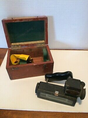WWII Marine Distance Meter PAT. 703 Henry Hughes & Sons No.1423 made in England