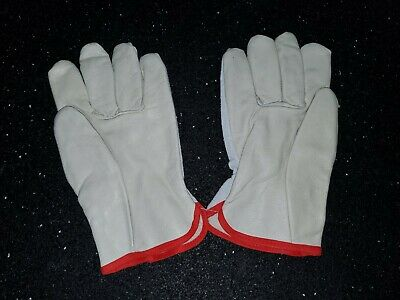 Toledano Industries SMALL WORK GLOVES Durable Cowhide Leather 27 pair