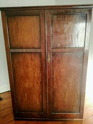 Antique 1900s 'The Valet' Gentleman's  Compactum Wardrobe