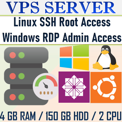 USA VPS Accounts - WINDOWS 10 RDP SERVER / VPS SERVER 4GB RAM + 150 GB HDD