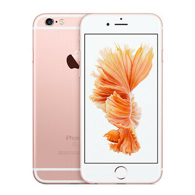 Apple iPhone 6s - 32GB - Rose Gold - (Unlocked) - A1688 (MN122VC/A) Smartphone