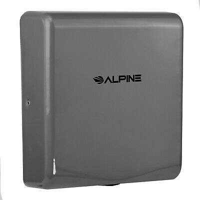 Alpine Industries Willow Commercial Gray High Speed Automatic Hand Dryer