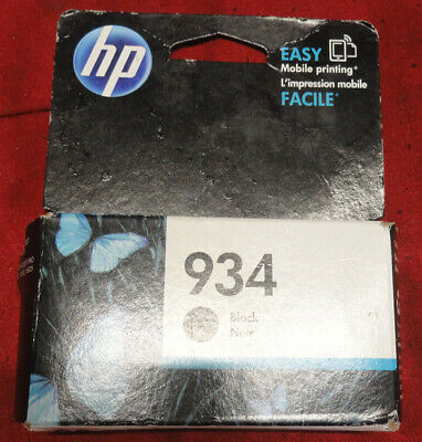 NEW OEM HP #934  Black  Ink Cartridge C2P19AN
