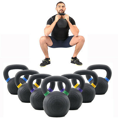 Gym Solid Cast Iron Kettlebell for Fitness Weightlifting-Available 9/13lbs