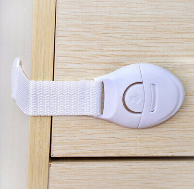 10pack Kids Child Baby Proofing Safety Locks Door Fridge Cupboard Cabinet Drawer