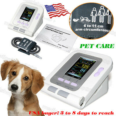 Vet/Veterinary/Animal Blood Pressure Monitor NIBP+6-11cm Cuff,Sphygmomanometer