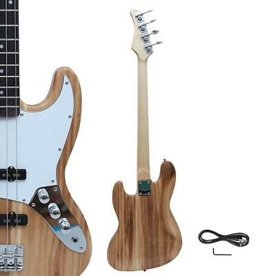 New Natural Beginner Practice School Student Band GJazz Electric 4 Strings Bass