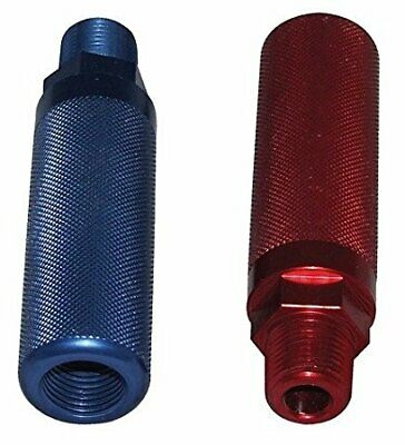 Aluminum Glad Hand Handles - One Blue & One Red PH-12-600 Gladhand Handles