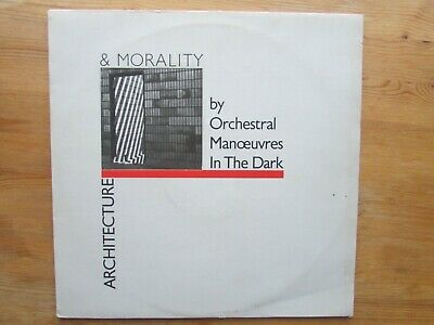 Orchestral Manoeuvres In The Dark Lp / Architecture & Morality ( Vg / Vg 1981 )
