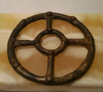 "Pendant ""ancient Viking"", copper, amulet ""sun"" 12-13 century."