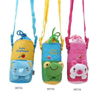 Baby Insulated Thermal Bag Cartoon Animal Milk Thermos Bottle Container Holder Z