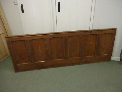 Two Pitch Pine Modesty Church panels and Oddments