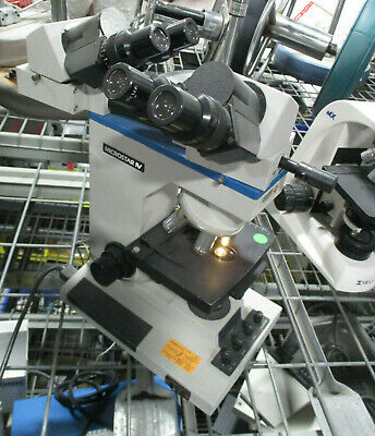 Reichert Microstar IV Medical Laboratory Microscope with 4 Objectives
