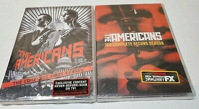 The Americans: The Complete First and Second Season DVD Factory Sealed