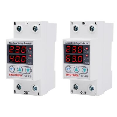 BW#A SVP-916 Adjustable Voltage Surge Protector Relay Limit Current Protection