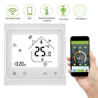 WIFI Vocale Cronotermostato Touch LCD Digitale Programmabile Caldaia Termostato.