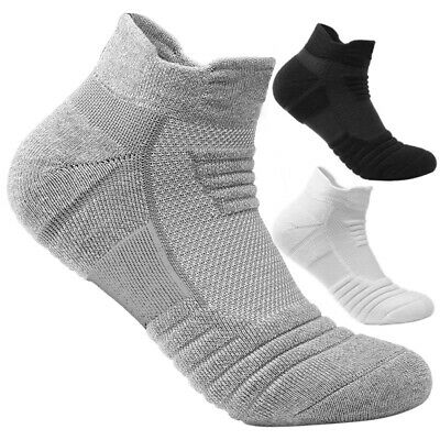 JP_ Mens Ankle Socks Low Cut Sports Breathable Running Crew Cotton Casual Sock