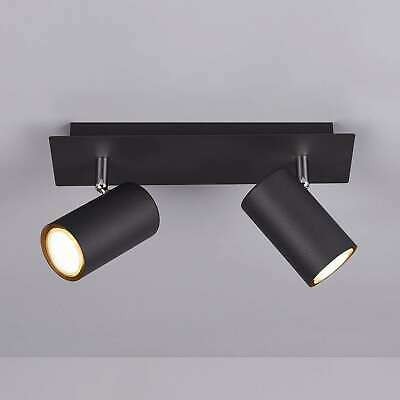 Trio Lighting LED Deckenleuchte /'Tucson/' Deckenlampe Metall Modern dimmbar A+