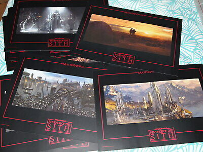 Coffret lithographie STAR WARS MASTERWORKS vol.2 épisode III revenge of the sith