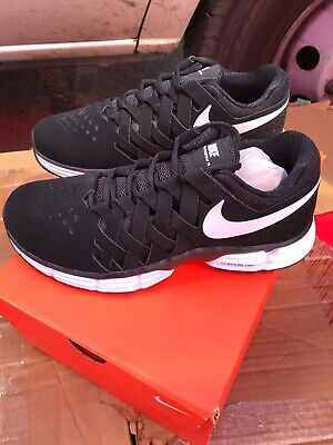 NIKE AIR MAX Compete TR Men's Cross Training Shoes WhtBlk