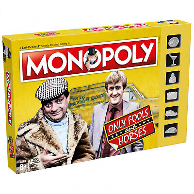 Monopoly Only Fools And Horses Edition Retro Family Card Board Games Play Gift