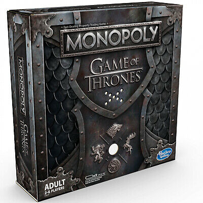Game Of Thrones Monopoly Board Cards Musical Edition Play GOT Adult Gifts Idea