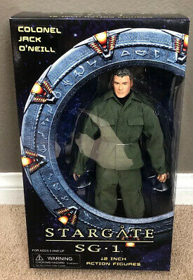 Stargate Sg1 Diamond Select Colonel Jack Oneill 12 Inch Action Figure-New In Box