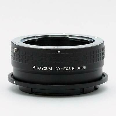 Rayqual lens mount adapter Contax-Yashica lens - RF mount body CY-EOSR