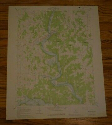 US Geological Survey USGS Topography Map; Vintage Map; Brinkhaven, OH
