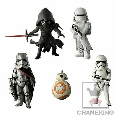 Star Wars The Force Awakens World Collectible Figure All 5set Banpresto Japan