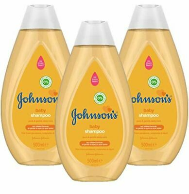 JOHNSON'S Baby Shampoo Multipack 3 x 500 m l– Gentle and Mild for Delicate Skin