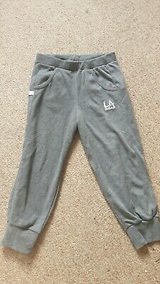 La gear cropped trousers Age 11-12 grey 11/12