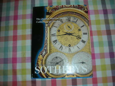 The Justice Warren Shepro Collection of clocksSotheby's2001Sotheby's