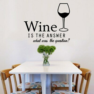 Exquisite wine Vinyl Self Adhesive Wallpaper Nursery Kids Room Wall Decor