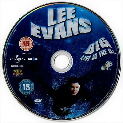 [DISC ONLY] Lee Evans - Big - Live at the O2 DVD Stand-Up Comedy