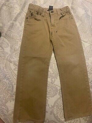 Ralph Lauren Polo Boys Jeans, Adjustable Waist, Skinny - Size 4/4T, Age 3-4 Uk