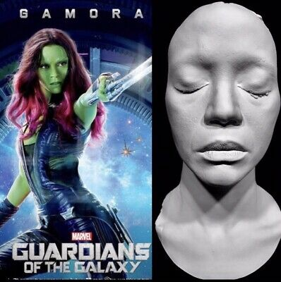 Zoe Saldana Life Mask Gamora Guardians Of The Galaxy Neytiri