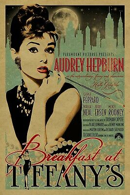 Audrey Hepburn Iron On Transfer For T-Shirt & Other Light + Dark Color Fabrics#2