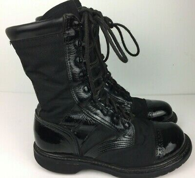 Corcoran Boots Men's 'Marauder' Combat Black Leather Military Army Jump USA 7 D
