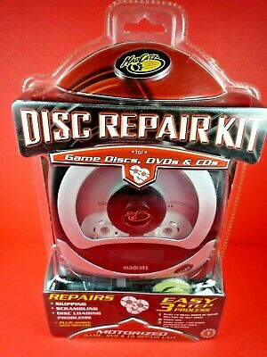 MADCATZ DISC REPAIR KIT FOR GAME DISCS, DVDs & CDs