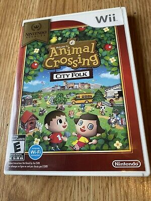 Animal Crossing: City Folk Nintendo Wii Cib DS1